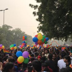 In photos: People defy smog to participate in 10th annual Delhi pride parade