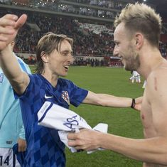 'Gave everything we had to get through': Rakitic wants Croatia to go further than heroes of 1998
