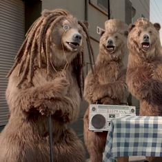 Watch: This advertisement with bears emulating African-American stereotypes is being called racist