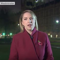 Watch: An early morning BBC live broadcast on Brexit was drowned out by 'obscene' noises