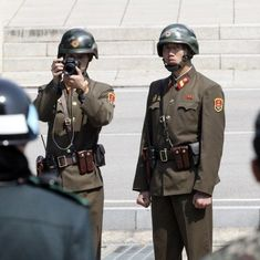 North Korean soldiers shoot colleague who defected to South Korea by crossing demilitarised zone