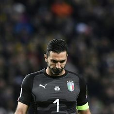 Buffon charged by Uefa for his comments on referee after Champions League quarter-finals