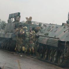 Zimbabwe's military denies coup, says it wants to target criminals around President Mugabe