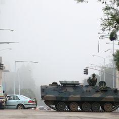 जिम्बाब्वे में सेना द्वारा सत्ता पर कब्जा जमाने सहित दिन के बड़े समाचार