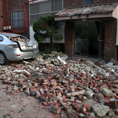 South Korea hit by 5.4-magnitude earthquake, the country's second most powerful one on record