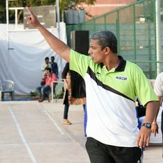 Meet Aju Jacob, a driven man working tirelessly for the growth of women's basketball in India