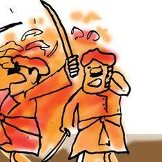 कार्टून :  आज की चुनौतियों से लड़ने का अभी वक़्त नहीं है