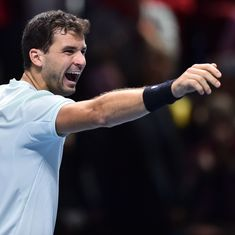 ATP Finals: Grigor Dimitrov demolishes David Goffin to storm into semi-finals