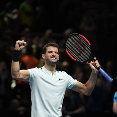 Not baby Federer anymore: Dimitrov wants comparisons to end after his best season