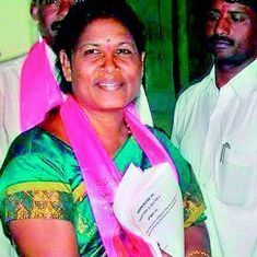 तेलंगाना : टीआरएस विधायक की धमकी- भाजपा का झंडा थामा तो सरकार मकान वापस ले लेगी