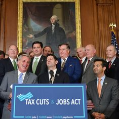 US House of Representatives passes bill to cut corporate tax from 35% to 20%