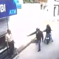 Watch: In spite of being shot and injured, this guard in Delhi foiled an attempt to rob an ATM