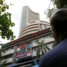 Sensex, Nifty trade lower as investors await GDP data for September quarter