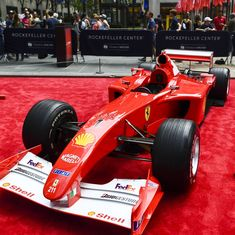 Michael Schumacher's Grand Prix-winning Ferrari sold for record $7.5 million