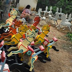 Crafting joy: This Karnataka village has been making wooden toys since Tipu Sultan's time