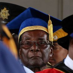 Zimbabwe President Robert Mugabe makes first public appearance since Army's takeover