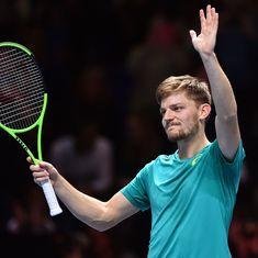 ATP Finals: David Goffin sets up semi-final clash against Roger Federer