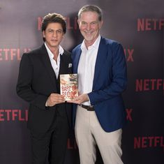 Netflix and Shah Rukh Khan team up to produce series based on 'The Bard of Blood' novel