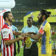 Future hai football? Looks like Kerala Blasters and ATK didn't receive the ISL's memo