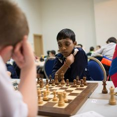 R Praggnanandhaa stays in hunt for world junior chess title with win over GM Awonder Liang