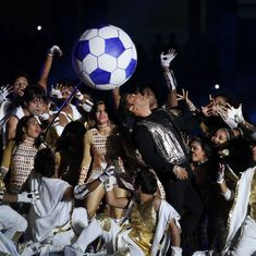 The ISL 4 opening ceremony tried its best to prove that the future isn't football in India