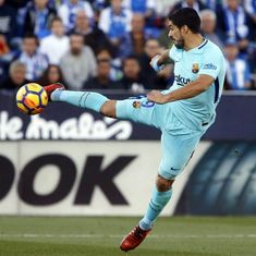 Luis Suarez ends goal drought as Barcelona stretch lead with 3-0 win over Leganes