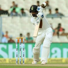 India vs SL, 1st Test, day four, live: Dhawan racing towards a century