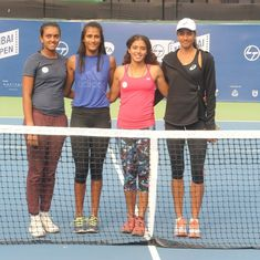 WTA Mumbai Open: Four Indians in main draw handed tough draws