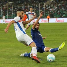 ISL 4: FC Goa stave off late Chennaiyin fightback to win 3-2