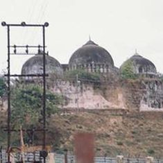 Supreme Court to hear the Ram Janmabhoomi-Babri Masjid case on August 11