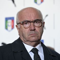 Italy football federation president resigns week after World Cup qualifying fiasco