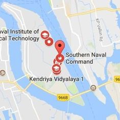 Kochi: Unmanned aircraft crashes minutes before Vice President Venkaiah Naidu's visit