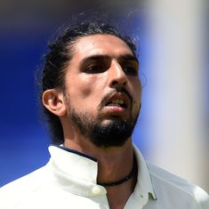 Ishant Sharma suffers Grade 3 ankle tear, ruled out of New Zealand tour: Report