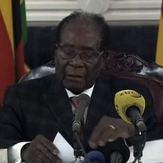Zimbabwe President Robert Mugabe resigns hours after his impeachment was set in motion