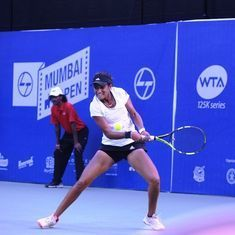 Solapur Open tennis: Rutuja stuns top seed Zidansek to enter semi-finals, Ankita Raina exits