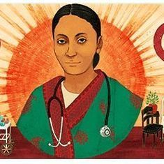 Google honours Rukhmabai Raut, one of India's first practicing women doctors, with a doodle