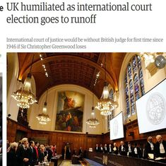 'Humiliated, diminished, significant failure': British press on Indian winning the ICJ battle
