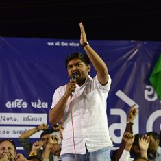 Hardik Patel invites Gujarat deputy chief minister Nitin Patel to leave the BJP and join him