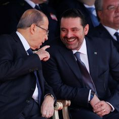 Lebanon's Prime Minister Saad al-Hariri puts resignation on hold after returning to Beirut