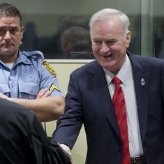 UN tribunal sentences 'Butcher of Bosnia' Ratko Mladic to life for genocide