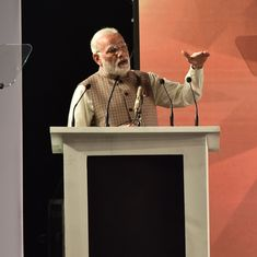 We need a 'fine balance' between internet privacy and national security needs, says Narendra Modi