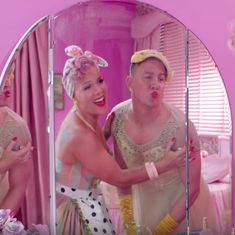 Pink and Channing Tatum challenge gender roles (and dance in drag) in a 1950s-inspired music video
