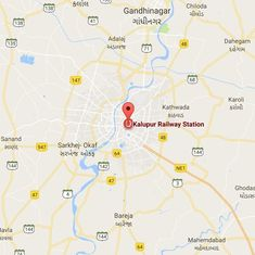 Gujarat: Bomb threat at Ahmedabad railway station, disposal squad at the spot