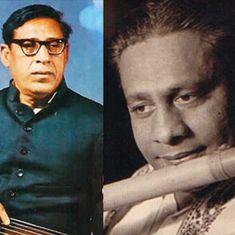 Listen: Diverse interpretations of the jhumra taal by Sharad Sathe, Amir Khan and Pannalal Ghosh