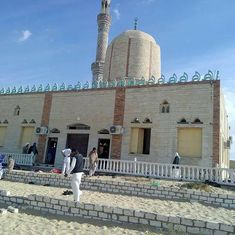 Egypt's Army conducts air strikes at suspected militant hideouts after mosque attack leaves 235 dead