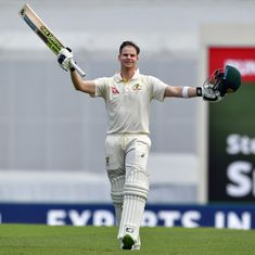 Steve Smith wins Australia's Test Cricketer of Year award for second time