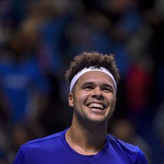 Davis Cup final: Tsonga downs Darcis to level for France