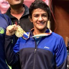 Ritu Phogat wins silver at Under-23 Wrestling World Championships