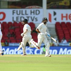 Vijay, Pujara grind Sri Lanka down in Nagpur to put India in the driver's seat in 2nd Test