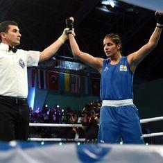 Boxing: Sakshi, Simranjit register wins as India remain unbeaten in Olympic Qualifiers